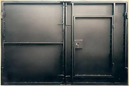 Скрытые гаражные петли своими руками